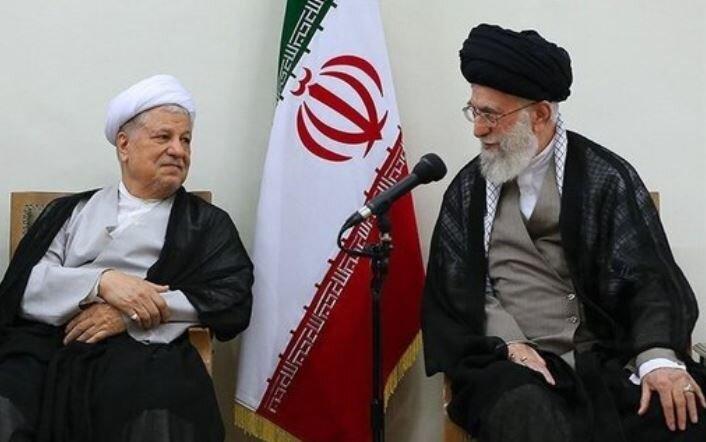رهبری و مرحوم هاشمی