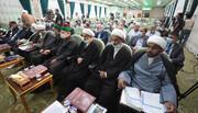 مرقد الامام الحسين (ع) يشهد إزاحة الستار عن موسوعة تضم (۲۰) جزءاً في مؤتمر علمي عالمي