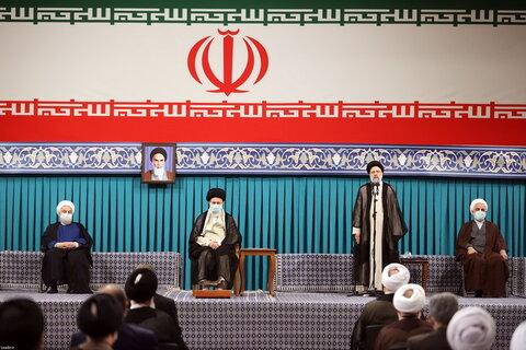 سخنرانی حجت الاسلام والمسلمین رئیسی در مراسم تنفیذ ریاست جمهوری