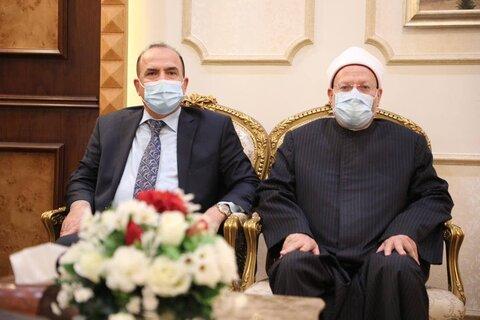 سعد کمبش رئیس دیوان وقف سنی عراق