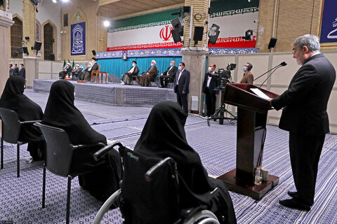بالصور/ مراسم تنفيذ الحكم للدورة الثالثة عشرة لرئاسة الجمهورية الإسلامية في إيران