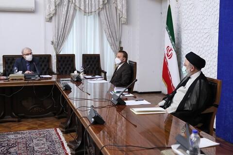 تصاویر/ جلسه روسای کمیتههای تخصصی ستاد ملی مقابله با کرونا با حضور حجت الاسلام والمسلمین رئیسی