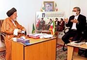 رئیس کمیته روابط خارجی کمیسیون امنیت ملی مجلس از آیت الله شاهچراغی تجلیل کرد