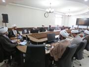 تصاویر/ نشست مدیران مدارس با مدیر جدید حوزه علمیه خراسان شمالی