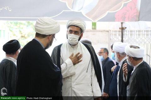 بالصور/ إقامة مجلس تأبيني لذكرى سنوية الفقيد آية الله محمد علي التسخيري بقم المقدسة
