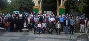 تصاویر / تجدید میثاق خبرنگاران استان همدان با شهدا و دیدار با نماینده ولی فقیه در استان