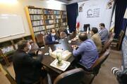 تصاویر/ حضور اعضای هیئت مدیره خانه مطبوعات استان قم در خبرگزاری حوزه