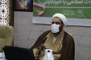 خبرنگاران راویان پیام تبلیغ حسین(ع) هستند