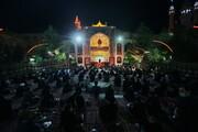 تصاویر/ مراسم عزاداری امام حسین(ع) در هیئت ثارالله فیضیه