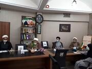 عیادت نماینده دفتر اجتماعی سیاسی حوزه از بیماران بیمارستان افشار یزد + عکس