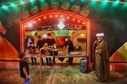 تصاویر/ برپایی ایستگاه های صلواتی به مناسبت ایام محرم در قم