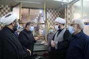 تصاویر/ بازدید رئیس سازمان تبلیغات اسلامی از هیئات مذهبی اهواز
