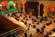 تصاویر/ عزاداری طلاب یزدی