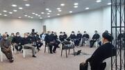 دیدار جمعی از فعالان گام دوم انقلاب حوزه صنعت نفت و انرژی با نماینده ولی فقیه در خوزستان + عکس
