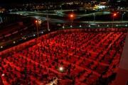 تصاویر/مراسم عزاداری درمدرسه مدینة العلم کاظمیه یزد