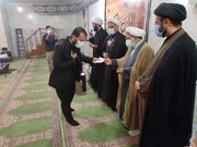 گروه های جهادی حوزه علمیه کهگیلویه و بویراحمد تجلیل شدند + عکس
