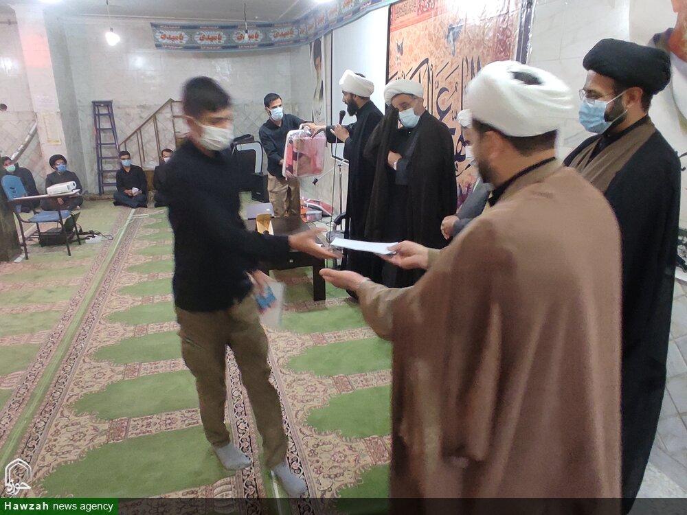 تصاویر/ تجلیل از طلاب جهادی کهگیلویه و بویراحمد