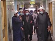 نمایندگان دفتر اجتماعی و سیاسی حوزه از بیمارستان شهید جلیل یاسوج بازدید کردند + عکس
