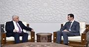 فالح الفیاض با بشار اسد دیدار کرد