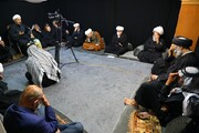آیت اللہ العظمی حافظ بشیر نجفی کے مرکزی دفتر نجف اشرف میںمجالس حسینیہکا اہتمام