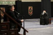 اقامة مراسم العزاء الحسيني ليلة التاسع من محرم بحضور الإمام الخامنئي