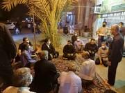 بازدید نماینده ولی فقیه در خوزستان از هیئات عزاداری اهواز/ تاکید بر رعایت دستورالعملهای بهداشتی