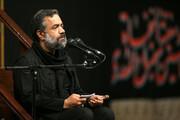 فیلم | مداحی حاج محمود کریمی در حضور رهبر معظم انقلاب