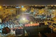 فیلم | مراسم اربعین حسینی در محله بزرگ امامشهر یزد و مجموعه ۱۴ معصوم(ع)