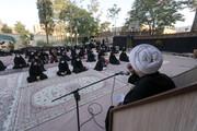 تصاویر/ مجلس روضه اباعبدالله(ع) با حضور بانوان در بیرجند