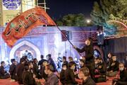 تصاویر/ عزاداری در پارک شهدای گمنام پاسداران بیرجند