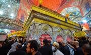 شهداء الطارمية يزورون مرقد سيد الاحرار حتى بعد استشهادهم