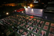 فیلم | شب دوم مراسم سوگواری در هیئت هنر و رسانه