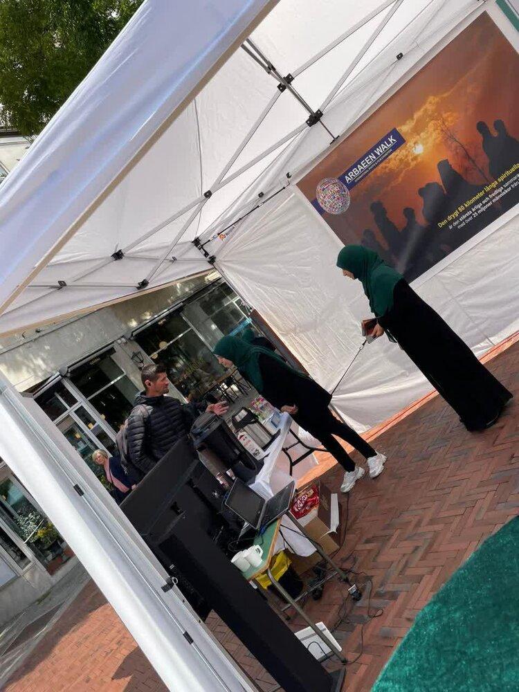 نمایشگاه عکس معرفی قیام امام حسین و اربعین در مالمو سوئد
