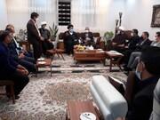 دیدار نماینده ولیفقیه در کهگیلویه و بویراحمد با خانواده شهید مدافع سلامت / تاکید بر رفع مشکلات خانواده شهدا