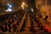 تصاویر/ مراسم عزاداری اباعبدالله الحسین(ع) در مسجد فاطمه الزهرا (س) بنیاد