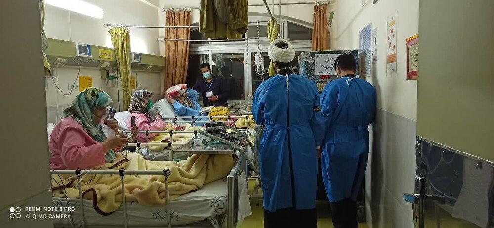 اعزام بیش از ۷۰ روحانی اصفهانی به بیمارستان ها در موج پنجم کرونا