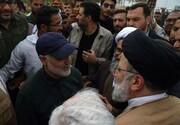 فیلم | خاطره رئیس جمهور از دیدار با شهید حاج قاسم سلیمانی و شهید المهندس در مناطق سیل زده خوزستان