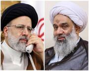 تماس تلفنی رئیسجمهور با حجتالاسلاموالمسلمین فرحانی
