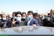 بالصور/ زيارة السيد رئيسي إلى محافظة خوزستان جنوبي إيران