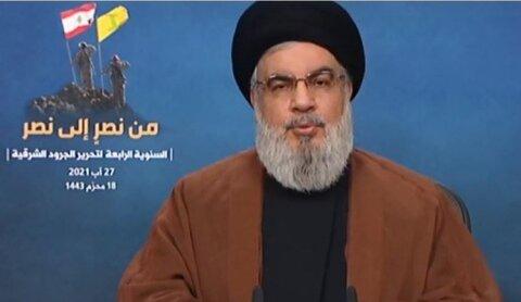 سید حسن نصرالله دبیر کل حزب الله لبنان