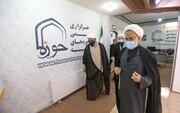 فیلم | بازدید رئیس سازمان نشر آثار و ارزشهای مشارکت روحانیت در دفاع مقدس از رسانه حوزه