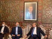 امير عبداللهيان: طهران ودمشق ستتخذان خطوات كبيرة بوجه الارهاب الاقتصادي