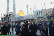 بالصور/ تشييع جثمان آية الله محمد علي فيض الجيلاني بقم المقدسة