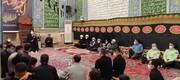 حضور صمیمی امام جمعه اهواز در جمع مردم منطقه چنیبه علیا + عکس