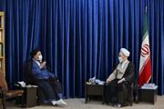 تصاویر/ دیدار رئیس عقیدتی سیاسی ناجا با آیت الله اعرافی