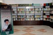 بازدید حجت الاسلام برته از کتابخانه مرکز بررسی های اسلامی