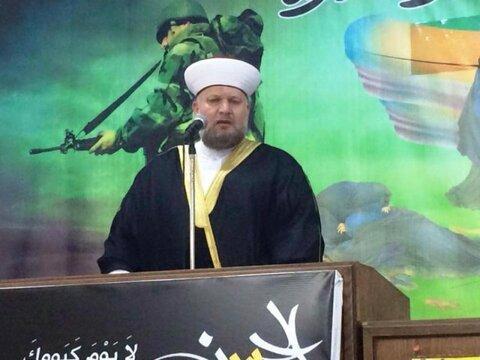 شیخ محمد صالح الموعد سخنگوی مجلس علمای فلسطین