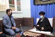 تصاویر / دیدار وزیر تعاون، کار و رفاه اجتماعی با حضرت آیت الله علوی گرگانی