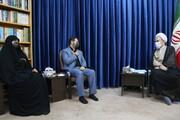 تصاویر/ دیدار وزیر تعاون، کار و رفاه اجتماعی با آیت الله اعرافی