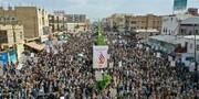 بالصور/ مسيرة جماهيرية كبرى في اليمن إحياء لذكرى استشهاد زيد بن علي (ع)